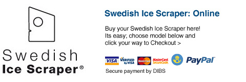 Swedish Ice Scraper: Online