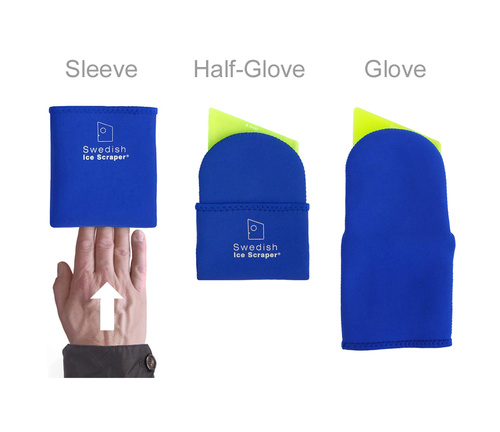 "ORIGINAL YellowGreen 5 mm + ""Sleeve & Glove"" in temp-isolate Neoprene"
