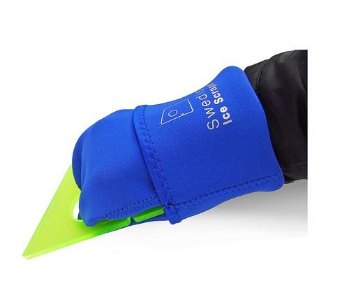 ORIGINAL YellowGreen 5 mm + Sleeve & Glove in temp-isolate Neoprene